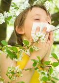 Allergy — Stock Photo