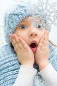 Winter portret — Stockfoto