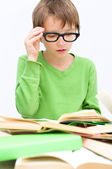 Kids reading — Stock Photo