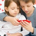 Children playing — Stock Photo
