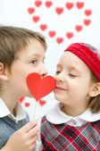 Valentine's concept — Stock Photo