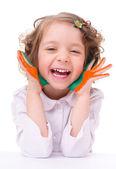 детский портрет — Стоковое фото