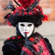 Masked person at the Venice Carnival 2014 — Stock Photo #41549831