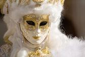 масках человек на венецианский карнавал 2014 — Стоковое фото
