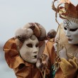 Masked person at the Venice Carnival 2014 — Stock Photo #41643925