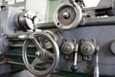 Steel lathe — Stock Photo