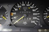 Lucky figures at speedometer — Stock Photo