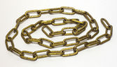 Gold chain — Stock Photo