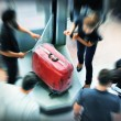 Stock Photo: Baggage wrapping