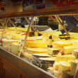 Stock Photo: Cheese shop