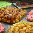 Stock Photo: Cakes and pastries