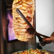 Stock Photo: Doner kebab
