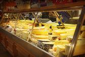 Cheese shop — Stock Photo