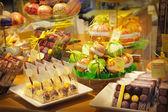 Chocolate shop — Stock Photo