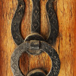Old door knocker — Stock Photo