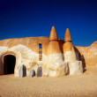 Stock Photo: Star wars decoration in Sahardesert