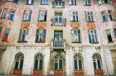 Byggnad fasad — Stockfoto