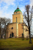 Suomenlinna church in Helsinki — Stock Photo