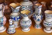 Pottery handicrafts — Stock Photo