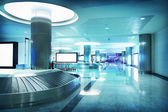 Airport interior — Stockfoto