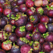Stock Photo: Mangosteen