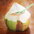 Stock Photo: Coconut water