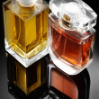 Stock Photo: Perfume bottles