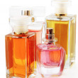 Perfume bottles - Stock Photo