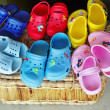 Summer shoes — Stockfoto