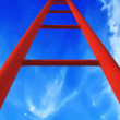 Royalty-Free Stock Photo: Red ladder
