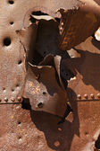 Rusty iron — Stock Photo
