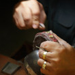 Stock Photo: Jeweller
