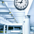 Royalty-Free Stock Photo: Airport clock