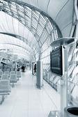 Airport interior — Stockfoto