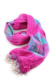 Pink scarf — Stock Photo
