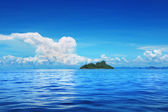 Blue sea and sky — Foto Stock