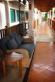 Hotel lounge — Stock Photo