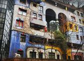 Hundertwasser house — Stockfoto
