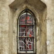 Medieval window — Stock Photo
