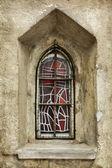 Mittelalterliche fenster — Stockfoto