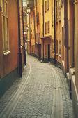 Gamla Stan Stockholm street — Stock Photo