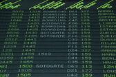 Flight schedule — Stock Photo