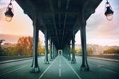 Pont de bir-hakeim köprüsü — Stok fotoğraf