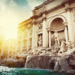 Trevi Fountain — Foto de Stock