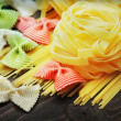 Uncooked pasta — Stock Photo #31425549