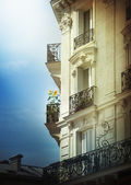 Pariser balkone — Stockfoto
