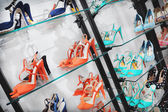 Shoes in a shop — Stock Photo