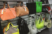 Bags in store — Stock Photo