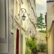 Stock Photo: Paris courtyard