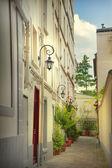 Paris avlu — Stok fotoğraf